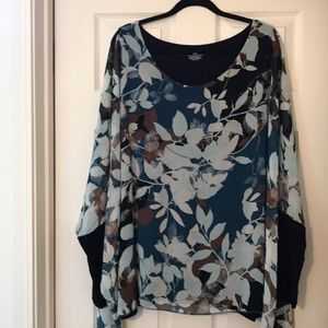 Beautiful top with full sleeves!  💞👍